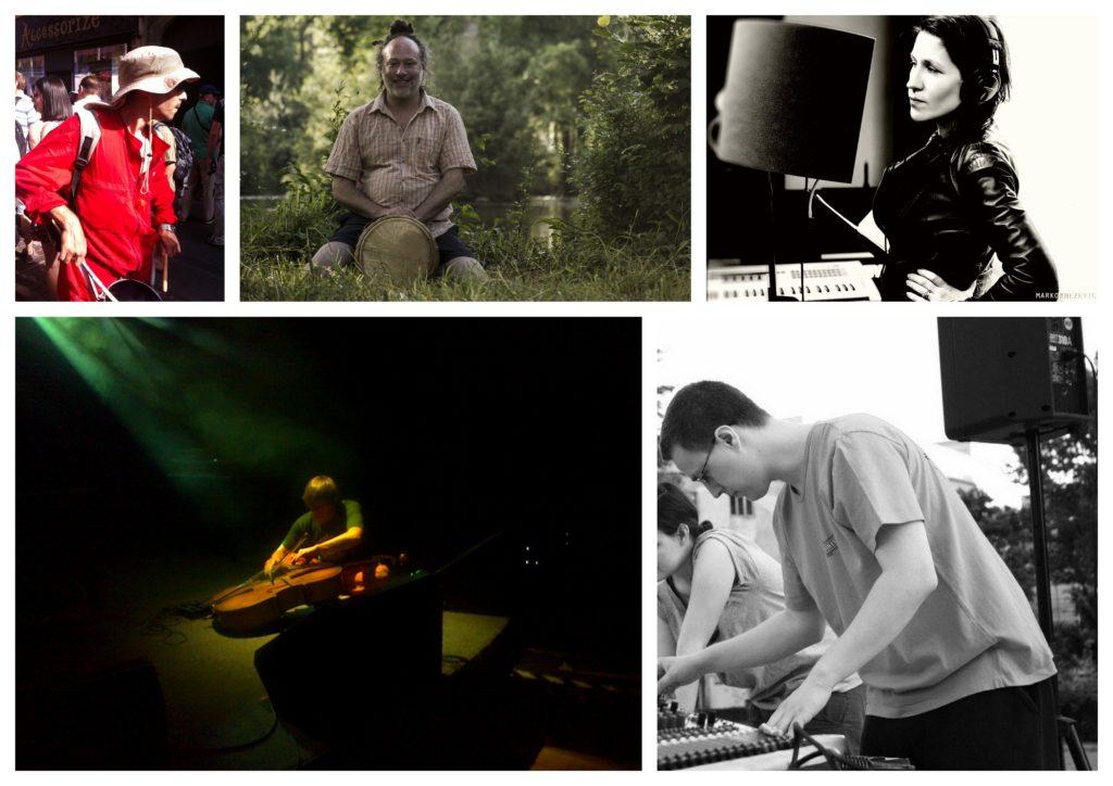 članovi glazbenog kolektiva ARKTIK