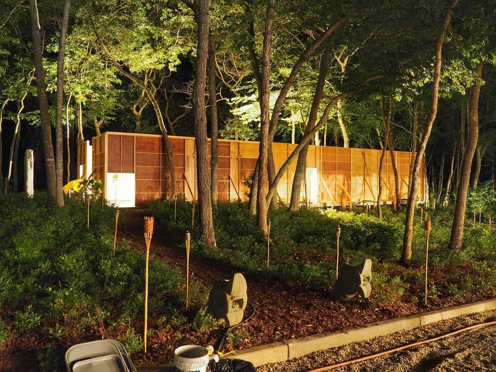 Izgradnja replike hale Željezare Sisak u Watermill centru u New Yorku