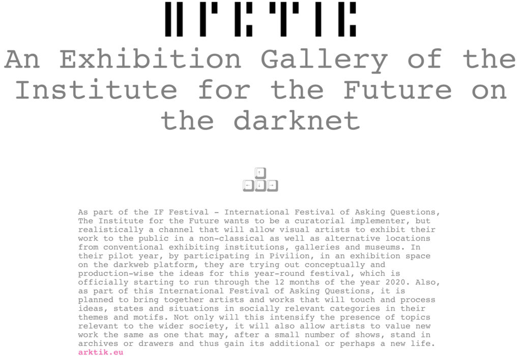 ARKTIK's gallery opened at the Croatian pavilion on the
